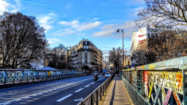 Montmartre Bridge Is A Paradise On Cemetary - But Where Is The Hell?